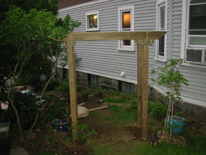 Садовая арочка своими руками