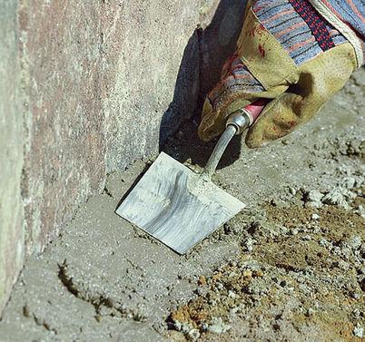Установка бордюрного камня на даче