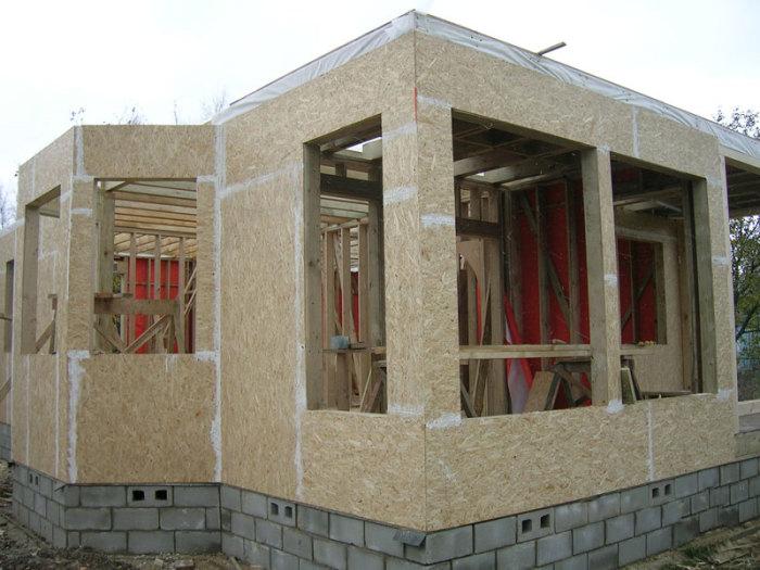 Каркасные дома своими руками. Последовательность строительства