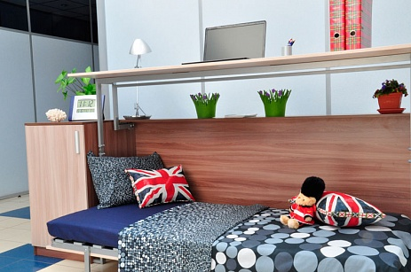 Детская и подростковая мебель: стол-кровать