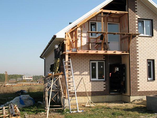 Строительство дач своими руками