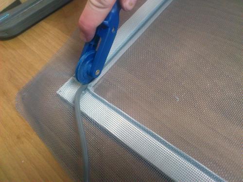 Сетка для пластиковых окон своими руками