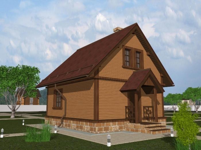 Готовые каркасные дома — размеры и комплектация