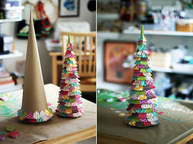 Новогодние елки своими руками