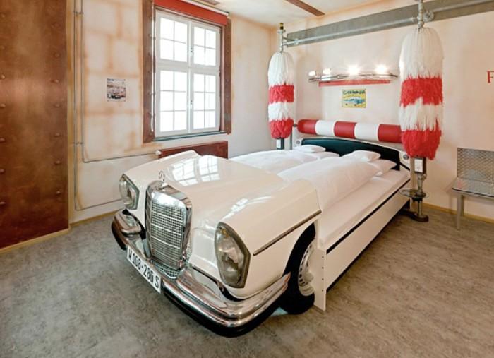 Кровать-машина для детей, подростков и взрослых