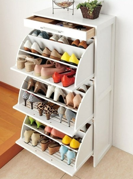 Шкаф для  обуви в  прихожую