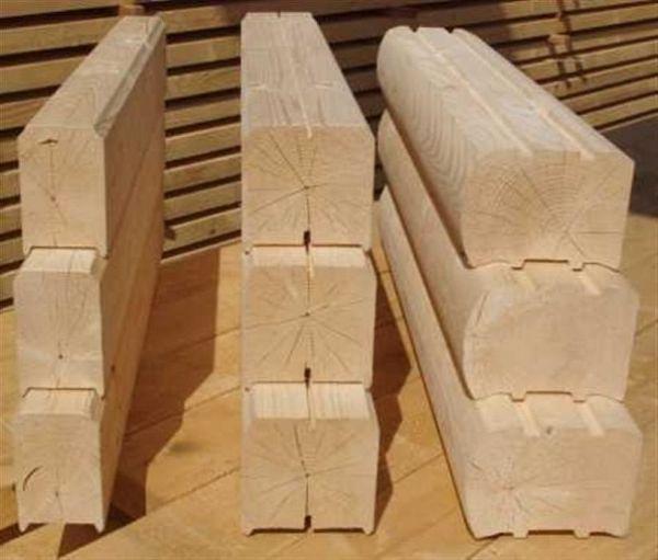 Сборка сруба из профилированного бруса – преимущества материала