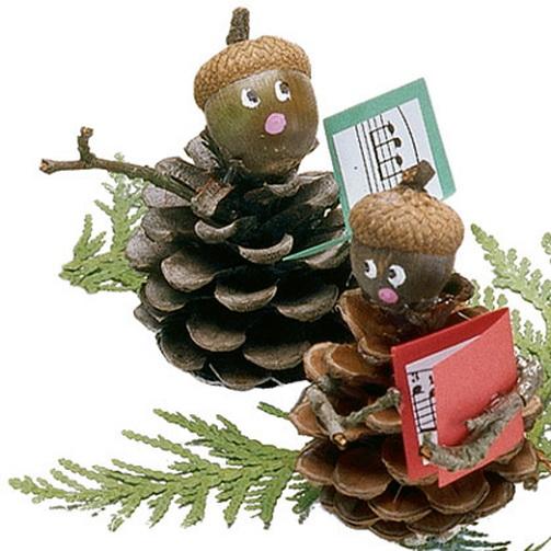Новогодние поделки и сувениры своими руками