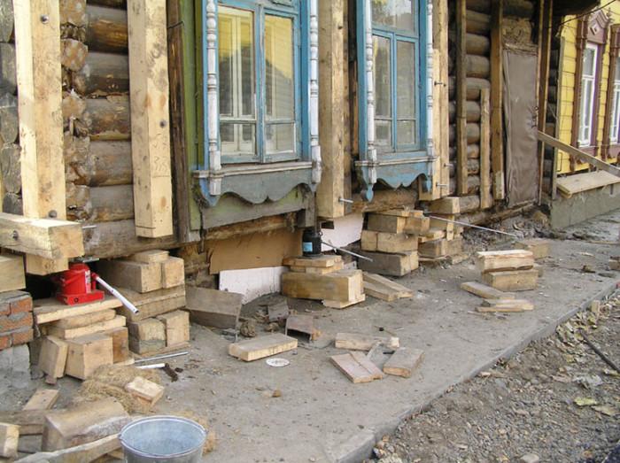 Ремонт старого деревенского дома своими руками