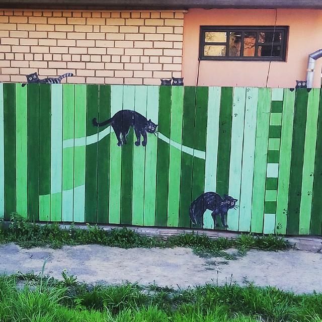 Узоры на заборе своими руками