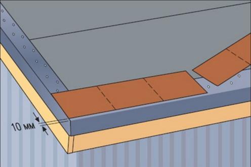 Инструкция по монтажу гибкой битумной черепицы