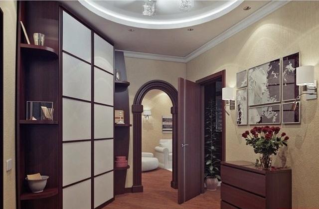 Оформление коридора