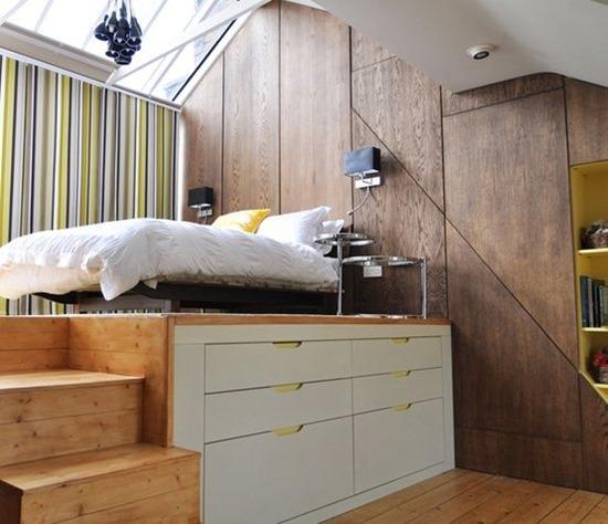 Кровать-подиум и все, что ее касается