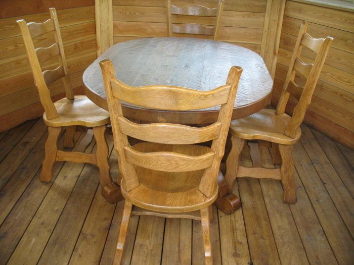 Стол для беседки из дерева своими руками