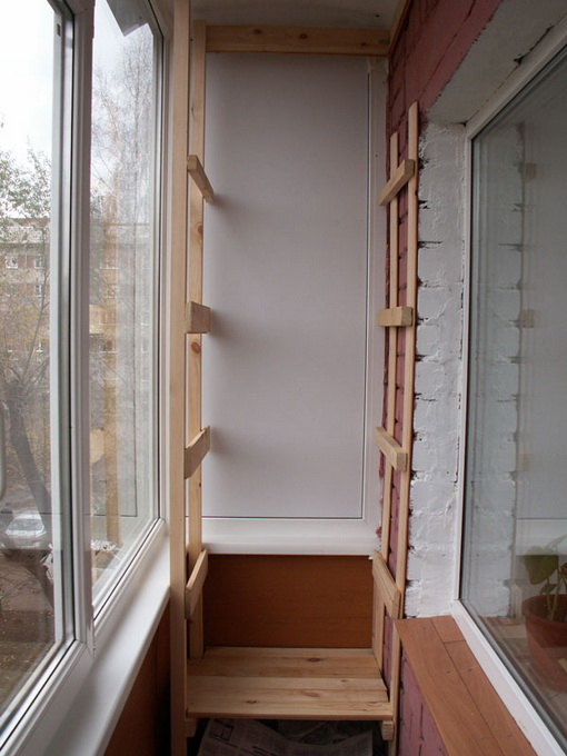 Как сделать полку на балконе своими руками фото