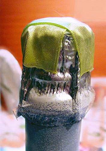 Новогодний декупаж: шампанского, бокалов и свечей