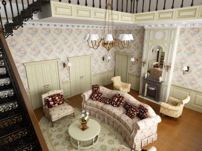 Интерьер дачного дома. Подбираем стиль
