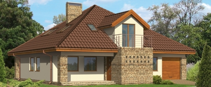 Крыша каркасного дома: виды и особенности