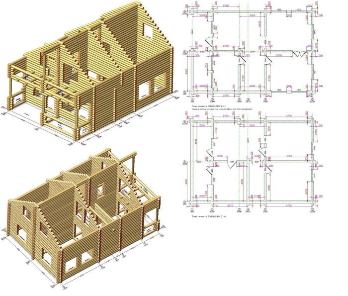 Строительство сруба — своими руками. Стоимость постройки