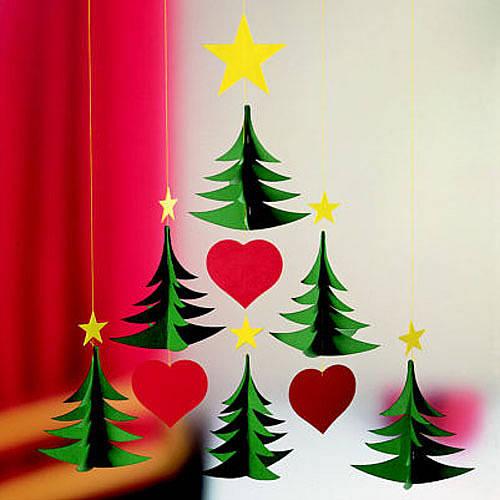 Как своими руками украсить комнату к новому году фото