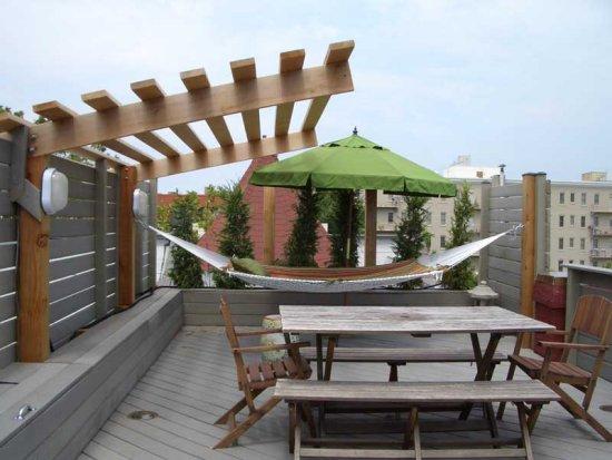 Дизайн плоских крыш
