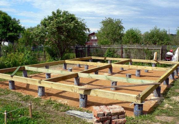 Строительство деревянного дома. Главные этапы