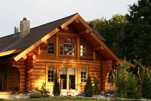 Бревенчатый дом – выбор проекта